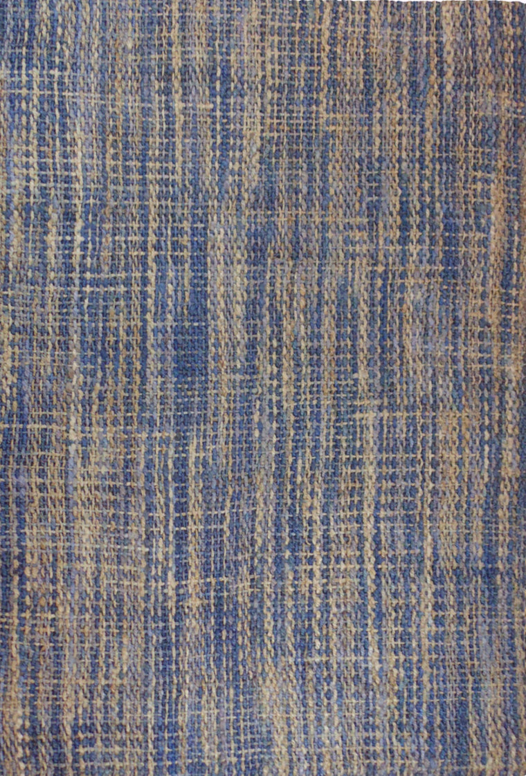 Tapete Jute Basket Weave Blue - Disponible en 4 Medidas