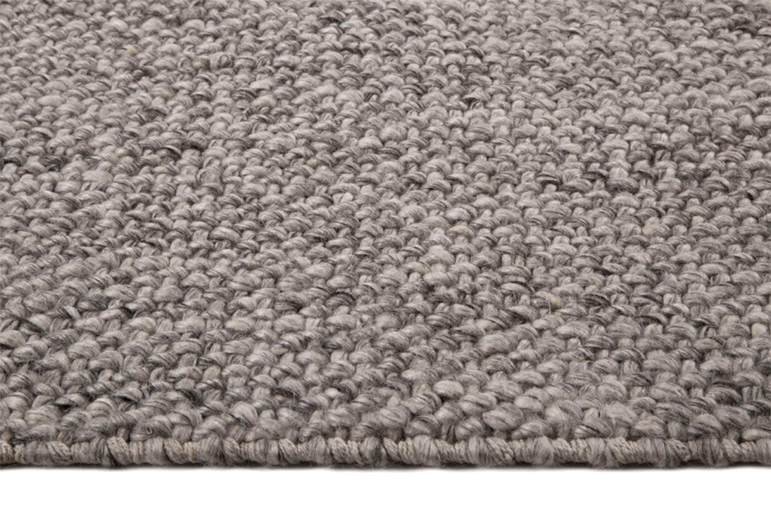 Tapete Looped Basket Weave Silver