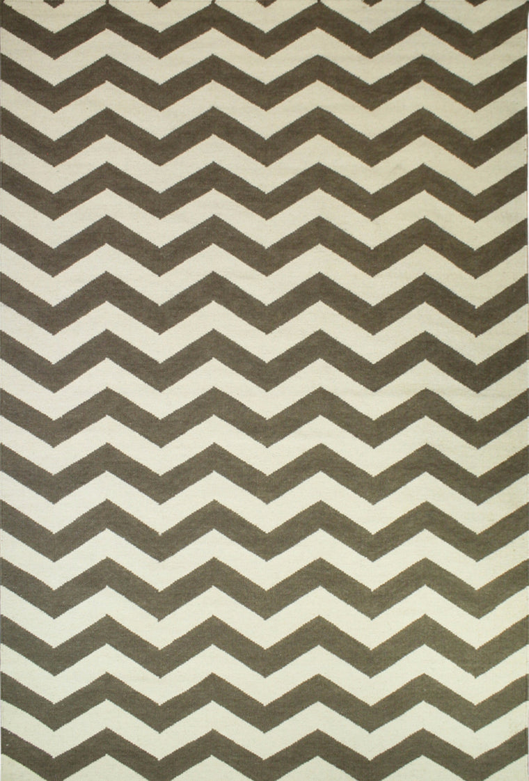 Tapete Marruecos chevron Cream/Caramel- Disponible en 4 Medidas