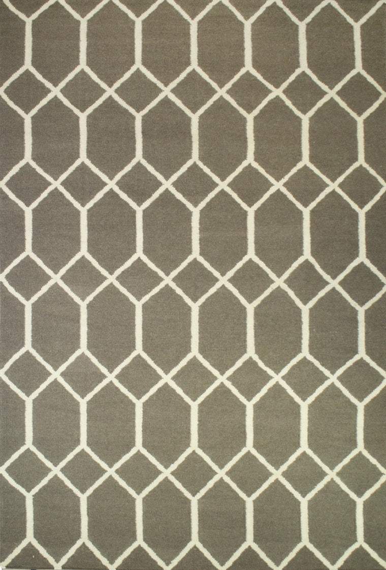 Tapete Marruecos hexagono Grey - Disponible en 4 Medidas