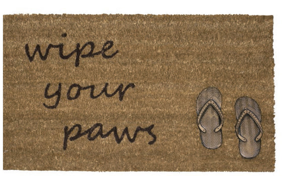 Tapete de Entrada Wipe your Paws Sandals