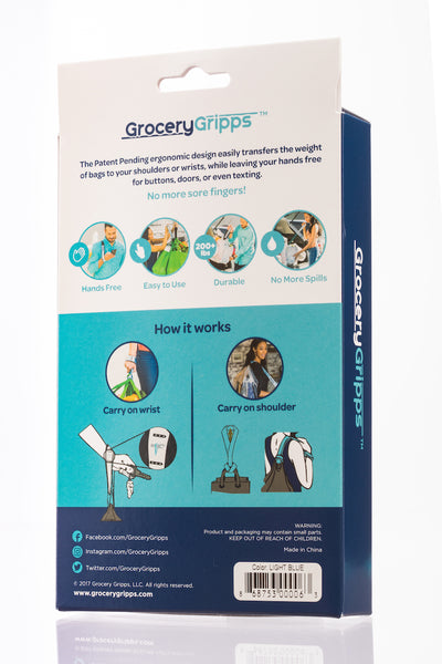 Grocery Gripps Hands-Free Bag Carrier