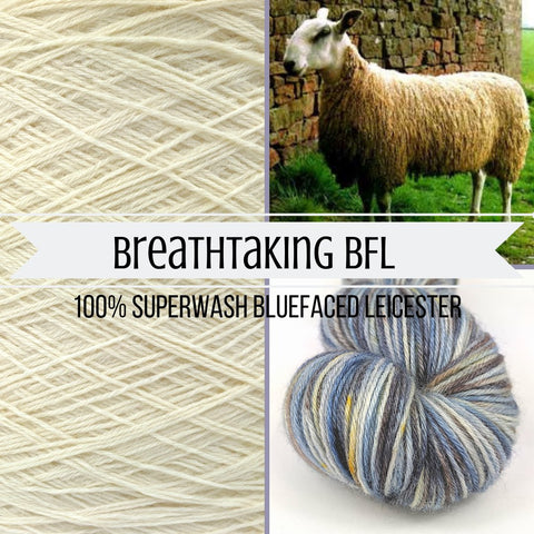 ASAP: Ready to Ship Breathtaking BFL Yarn