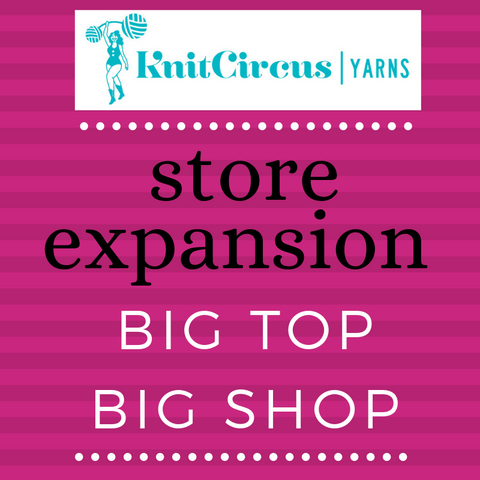 Big Top Big Shop Store Expansion