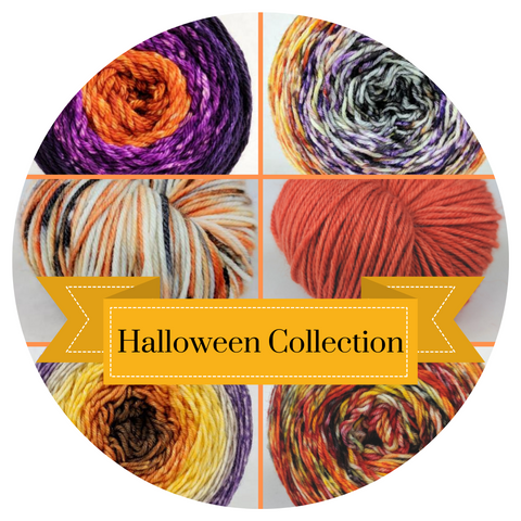 Halloween Colorways, ready to ship