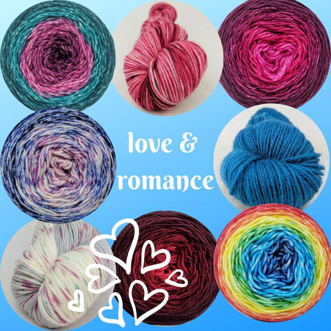 Love and Romance Colorways, Ready to Ship