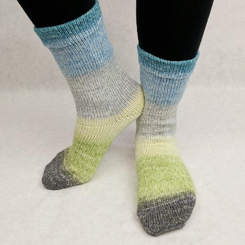 Custom-Dyed: Gradient Matching Socks Sets