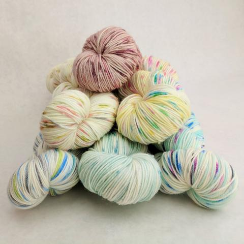 Custom-Dyed: Speckle Skeins
