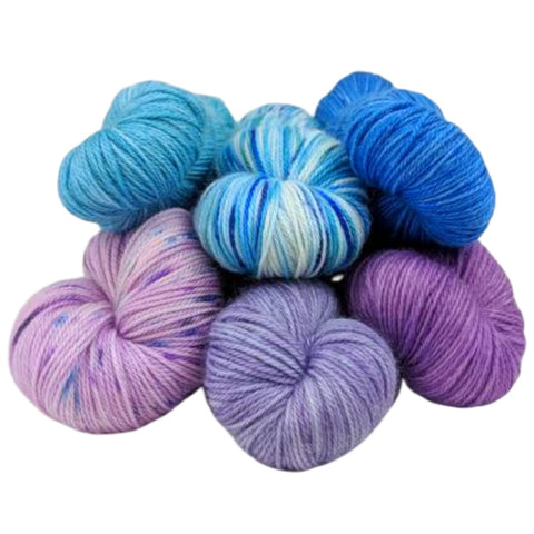 ASAP: Ready to Ship Kettle-Dyed/Handpainted/Speckled Yarns, All Bases