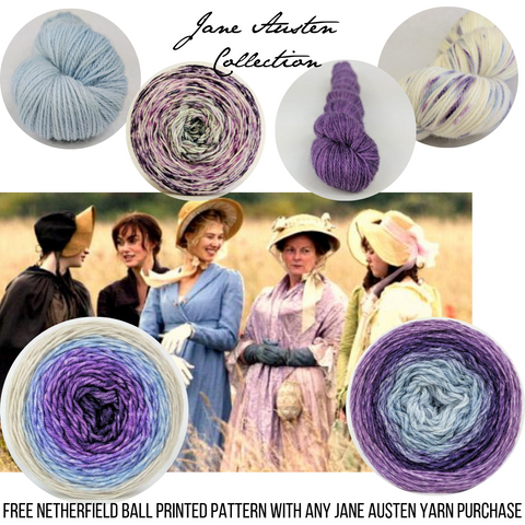 Jane Austen Colorways, Ready to Ship