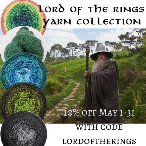 Lord of the Rings Colorways, Ready to Ship