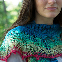 Vernice Shawl, by Susanna IC