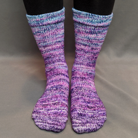 Knitcircus Yarns: The Knit Sky Impressionist Gradient Matching Socks Set, dyed to order yarn