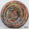 Knitcircus Yarns: Speed of Light 100g Modernist, Trampoline, choose your cake, ready to ship yarn - SALE