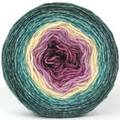Knitcircus Yarns: Jingle Bells 150g Panoramic Gradient, Breathtaking BFL, ready to ship yarn