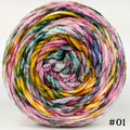 Knitcircus Yarns: Flower Stand 100g Modernist, Ringmaster, choose your cake, ready to ship yarn