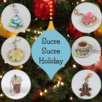 Sucre Sucre Miniatures Stitch Markers, assorted charms, ready to ship