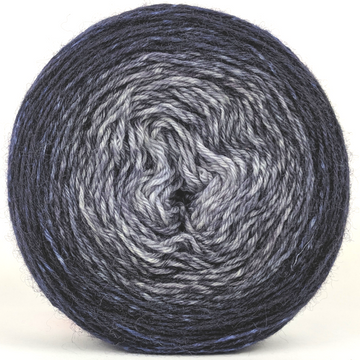 Knitcircus Yarns: Mithrandir 100g Panoramic Gradient, Breathtaking BFL, ready to ship yarn