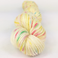 Knitcircus Yarns: Cindy Lou Who 50g Speckled Handpaint skein, Breathtaking BFL, ready to ship yarn
