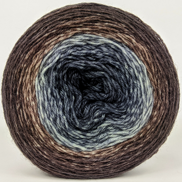 Knitcircus Yarns: Have Fun Storming the Castle 100g Panoramic Gradient, Breathtaking BFL, ready to ship yarn