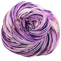 Knitcircus Yarns: Know Your Own Happiness 100g Speckled Handpaint skein, Trampoline, ready to ship yarn