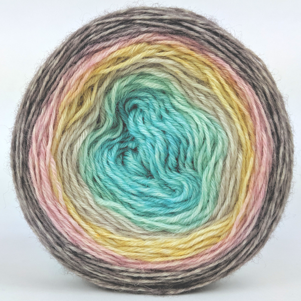 Knitcircus Yarns: Home on the Range 100g Panoramic Gradient, Breathtaking BFL, ready to ship yarn