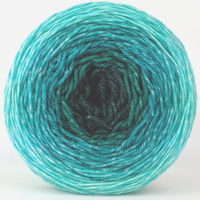 Knitcircus Yarns: Hello Beautiful 100g Panoramic Gradient, Flying Trapeze, ready to ship yarn