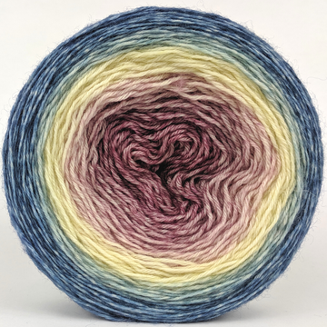 Knitcircus Yarns: Wallflower 150g Panoramic Gradient, Breathtaking BFL, ready to ship yarn