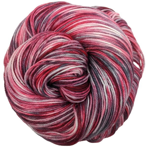 Knitcircus Yarns: Zombie Brunch 100g Handpainted skein, Greatest of Ease, ready to ship yarn
