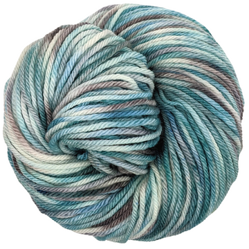 Knitcircus Yarns: Frozen in Time 100g Speckled Handpaint skein, Ringmaster, ready to ship yarn