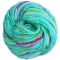Knitcircus Yarns: We Scare Because We Care 100g Speckled Handpaint skein, Divine, ready to ship yarn