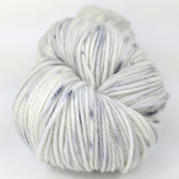 Knitcircus Yarns: Night Circus 100g Speckled Handpaint skein, Flying Trapeze, ready to ship yarn