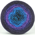Knitcircus Yarns: The Knit Sky 150g Panoramic Gradient, Breathtaking BFL, ready to ship yarn