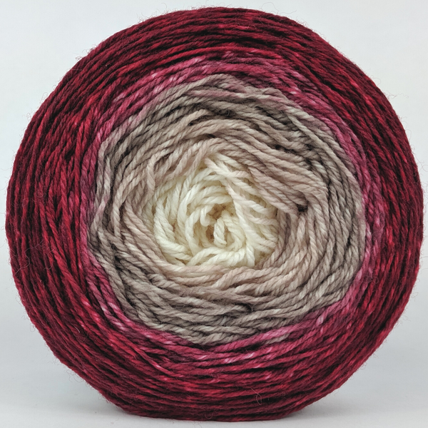 Knitcircus Yarns: Old Saint Nick 100g Panoramic Gradient, Flying Trapeze, ready to ship yarn