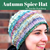 Autumn Spice Hat Yarn Pack, pattern not included, dyed to order