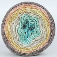 Knitcircus Yarns: Home on the Range 100g Panoramic Gradient, Opulence, ready to ship yarn