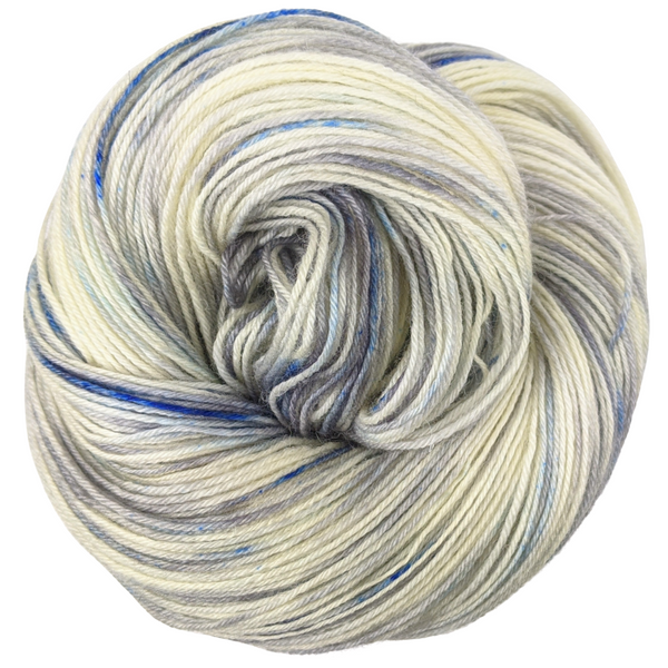 Knitcircus Yarns: Fishing in Quebec 150g Speckled Handpaint skein, Breathtaking BFL, ready to ship yarn