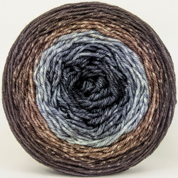 Knitcircus Yarns: Have Fun Storming the Castle 100g Panoramic Gradient, Flying Trapeze, ready to ship yarn