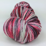 Knitcircus Yarns: Zombie Brunch Handpainted Skeins, dyed to order yarn