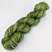 Knitcircus Yarns: Slow and Steady 100g Speckled Handpaint skein, Breathtaking BFL, ready to ship yarn