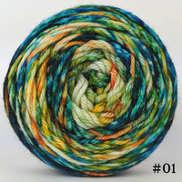 Knitcircus Yarns: Get Knit Done 100g Modernist, Ringmaster, choose your cake, ready to ship yarn
