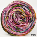 Knitcircus Yarns: Flower Stand 100g Modernist, Divine, choose your cake, ready to ship yarn