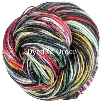 Knitcircus Yarns: King of the Coop Handpainted Skeins, dyed to order yarn