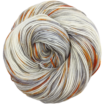 Knitcircus Yarns: Where There's Smoke 100g Speckled Handpaint skein, Trampoline, ready to ship yarn