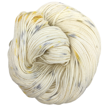 Knitcircus Yarns: Brass and Steam 100g Speckled Handpaint skein, Parasol, ready to ship yarn