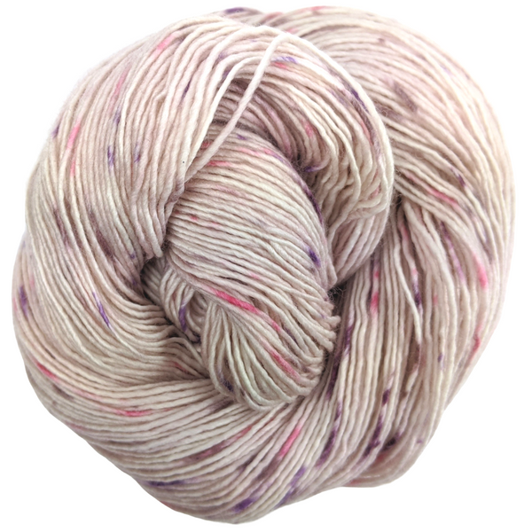 Knitcircus Yarns: Fig and Prosciutto 100g Speckled Handpaint skein, Spectacular, ready to ship yarn