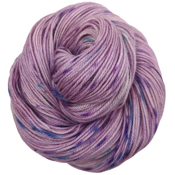 Knitcircus Yarns: The Knit Sky 100g Speckled Handpaint skein, Opulence, ready to ship yarn