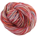 Knitcircus Yarns: Make Like a Tree 100g Speckled Handpaint skein, Trampoline, ready to ship yarn