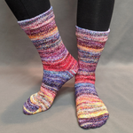 Knitcircus Yarns: Hello Jello Modernist Matching Socks Set, dyed to order yarn