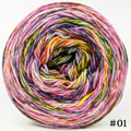 Knitcircus Yarns: Flower Stand 100g Modernist, Flying Trapeze, choose your cake, ready to ship yarn